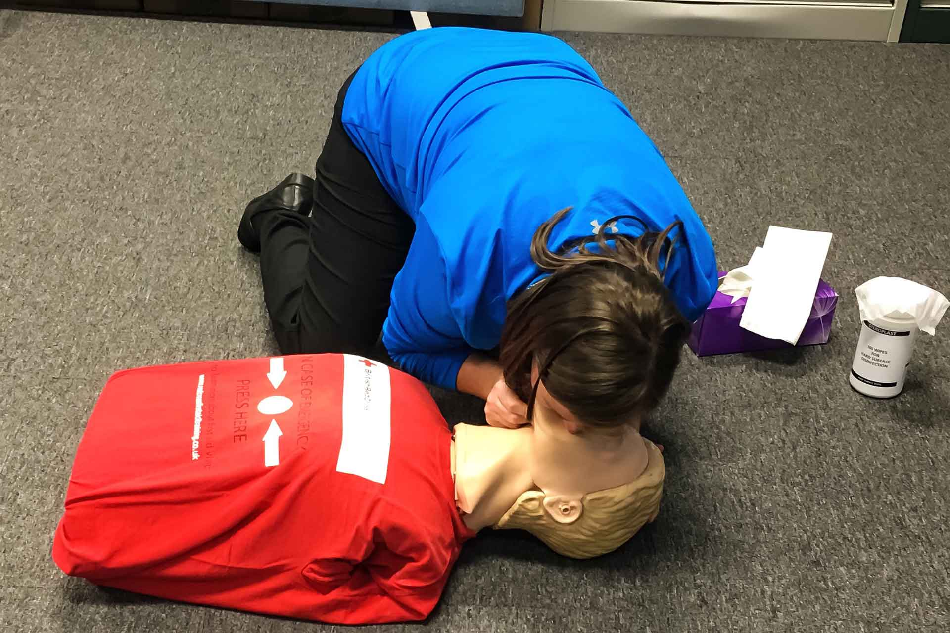 SETA Accredited First Aid Training Level 1
